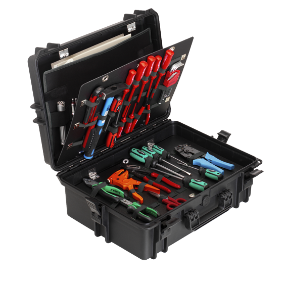 MAX505PUTR Tool Case with Wheel System