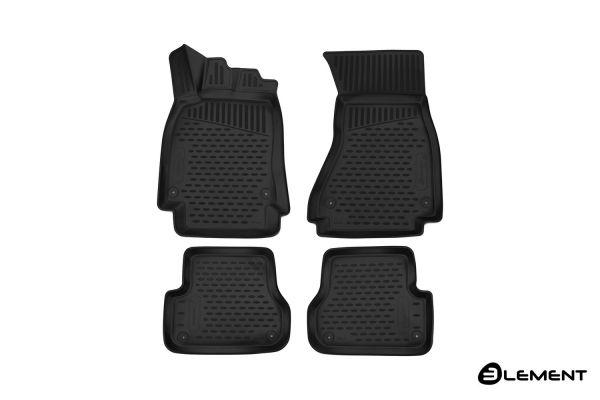 Fußraummatten Antirutsch Audi A6 4-teiliges Set - Jahr: 11-18 ->