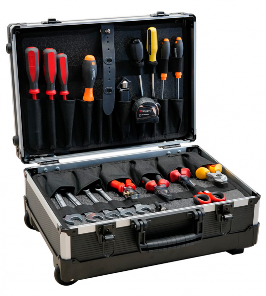 TOOL CASE FLASH WH 2 PTS
