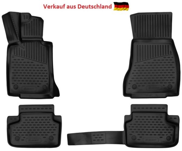 Fußraummatten Antirutsch BMW 5er 4-teiliges Set - Jahr: 16 ->
